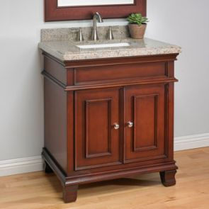 costco single vanity sink granite