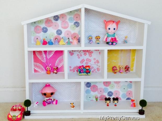 diy dollhouse fairies princess lalaloopsy kids toys