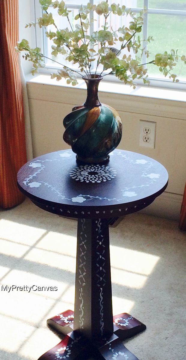 bone inlay morocco india table home decor diy martha stewart pier 1 target