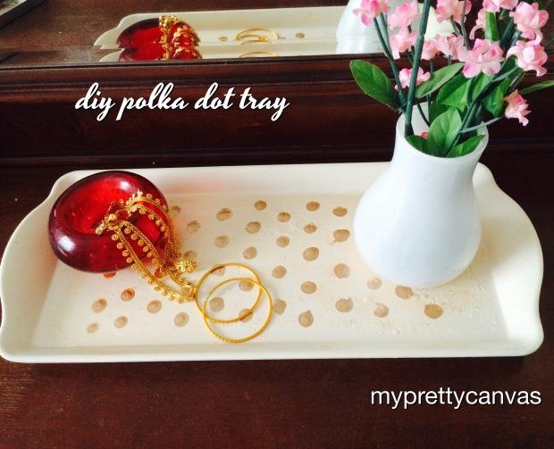 spray paint heirloom off white martha stewart polka dots home decor dresser