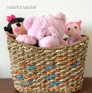organization baskets storage home decor pinterest toys kids oranges blues home decor diy crafts