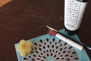 martha stewart stencil bone inlay paint home decor diy