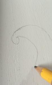 paisley pencil sketch tray ottoman hiome decor diy