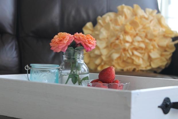 ottoman tray diy home decor kindle magazines family room