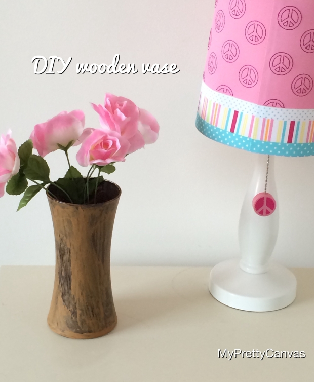 wood vase flowers crafts home decor decorating ideas tips