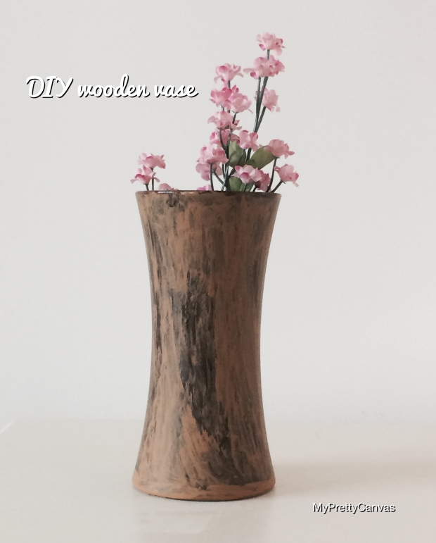 craft ideas vase flowers wood decorating ideas home decor diy