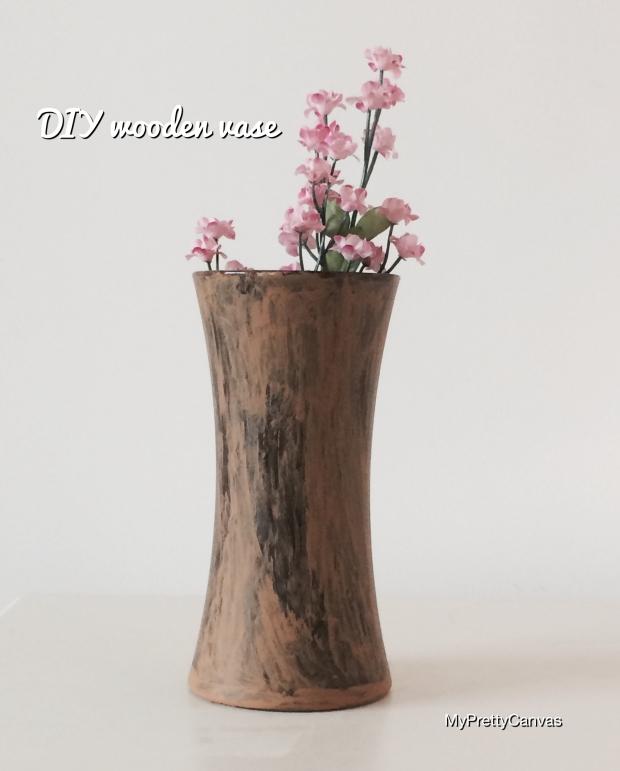 craft ideas vase flowers wood decorating ideas home decor diy
