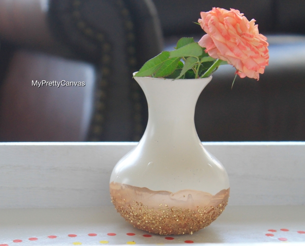bud vase flowers ottoman tray diy home decor tips decorating