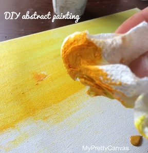 abstract painting, diy, decorating tips, home decor, painting