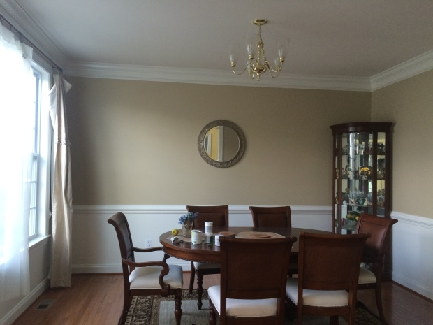 wheeling neutral, dining room color ideas, benjamin moore, painting, home decor